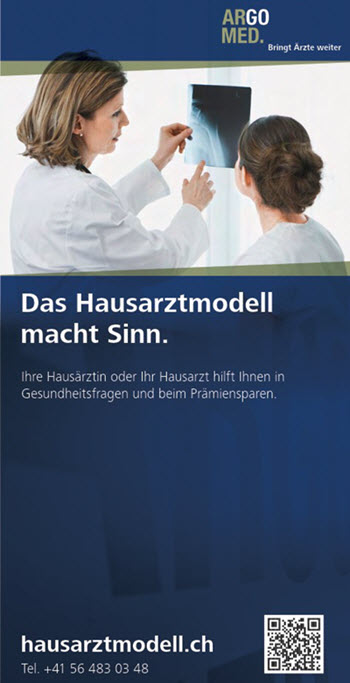 Hausarztmodell flyer